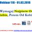 Thumbnail image for Webinar 116 – 01.02.2016 – Wymagaj Najpierw Od Siebie, Potem Od Kobiet